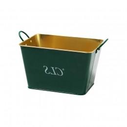 Class Gold Metal Bucket Green n? Gold