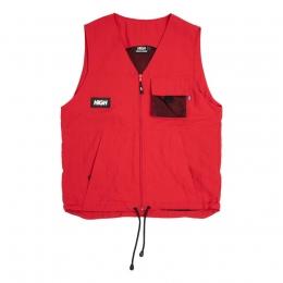 Colete High Kangaroo Vest Red