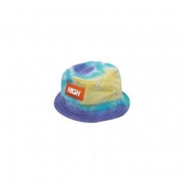 High Dyed Bucket Hat Sea Green