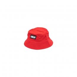 High Reversive Bucket Hat Red/Night Green