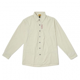 Jaqueta Class Shirt Jacket Ivory