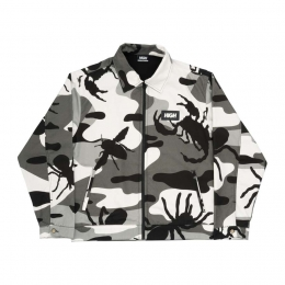 Jaqueta High Bug Camo Jacket Black