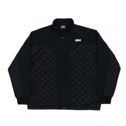 Jaqueta High Quilted Jacket Logo Black