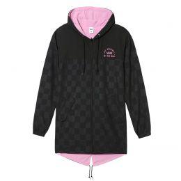 Jaqueta Vans Mercy Reversible Parka Black Fuchsia Pink