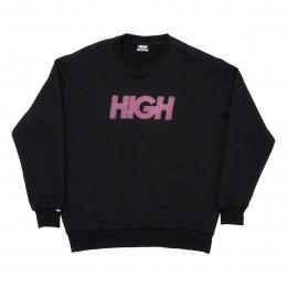 Moletom High Crewneck Olograph Logo Black