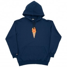 Moletom High Hoodie Fire Cream Blue