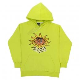 Moletom High Hoodie Junglist Neon Green