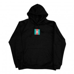 Moletom Walls Square Logo Gucci Black