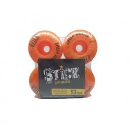 Rodas Stick 53mm 92A Laranja