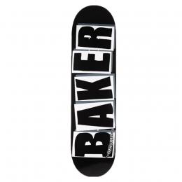 Shape Maple Baker Brand Logo Black/White