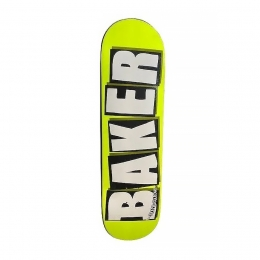 Shape Maple Baker Brand Logo Neon Yellow