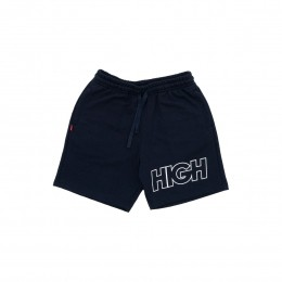 Shorts High Sweat Shorts Outline Logo Navy 20D2P2
