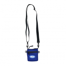 High Shoulder Flatbag Logo Blue