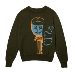 Sweater Class  Chave Verde