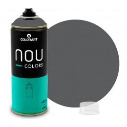 Tinta Spray NOU Cinza Black 400ml