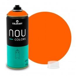 Tinta Spray NOU Laranja Luminoso 400ml