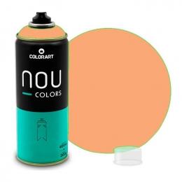 Tinta Spray NOU Laranja Solar 400ml