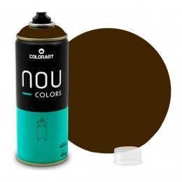 Tinta Spray NOU Marrom Tabaco 400ml