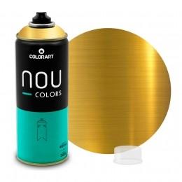 Tinta Spray NOU Ouro 400ml