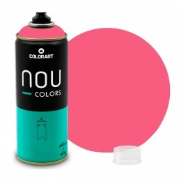 Tinta Spray NOU Rosa Magenta 400ml