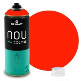 Tinta Spray NOU Vermelho Luminoso 400ml