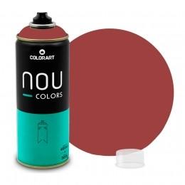 Tinta Spray NOU Vermelho Óxido 400ml