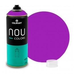 Tinta Spray NOU Violeta Luminoso 400ml