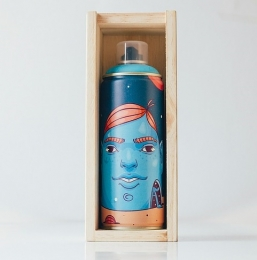Tinta Spray NOU x à x POMB Série Limitada