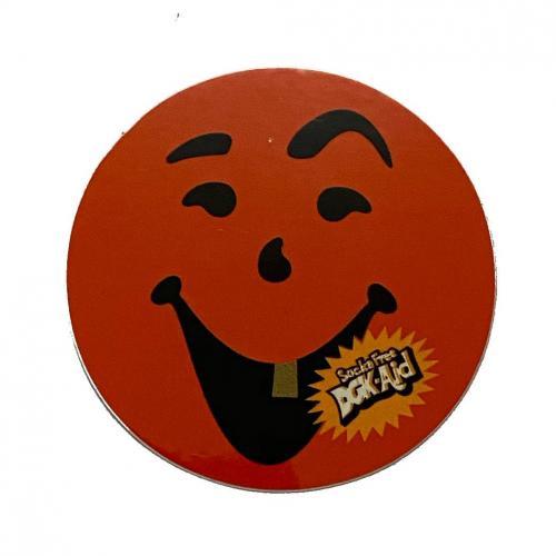 Adesivo DGK Aid Smile Orange