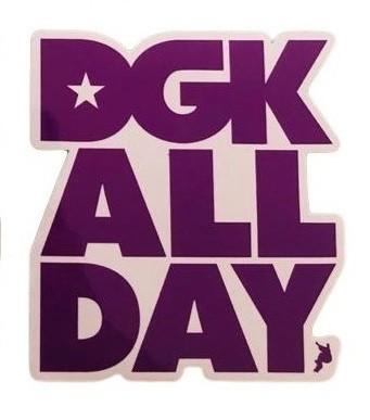Adesivo DGK ALL DAY Purple