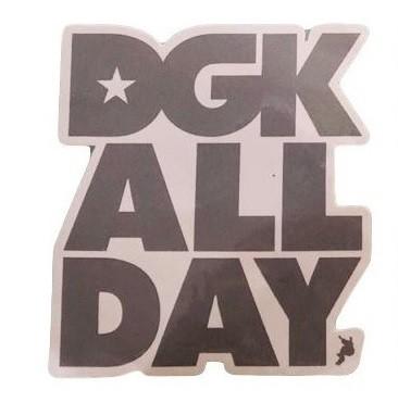 Adesivo DGK ALL DAY Silver