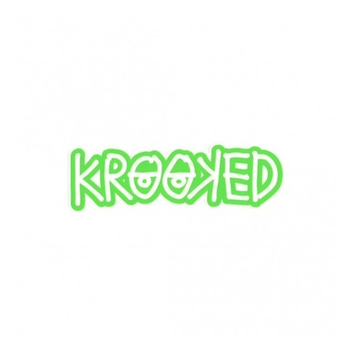 Adesivo Krooked Logo Green