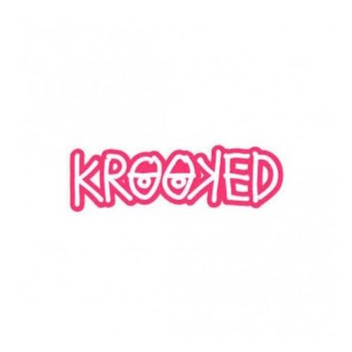 Adesivo Krooked Logo Pink