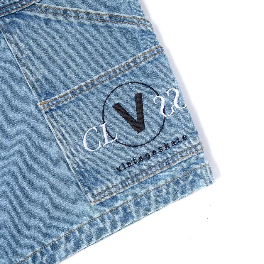 Bermuda Jeans Class x Vintageskate Carpenter