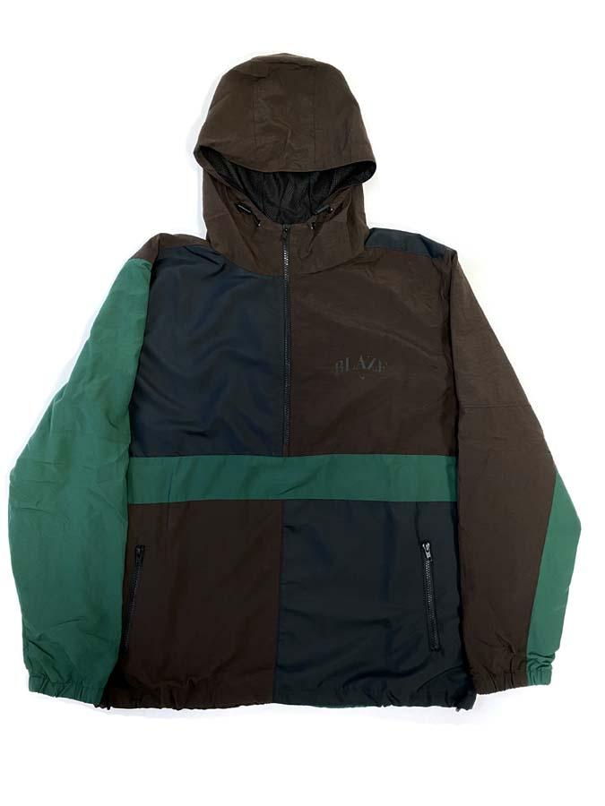 Blaze Jacket Tricolor College Brown