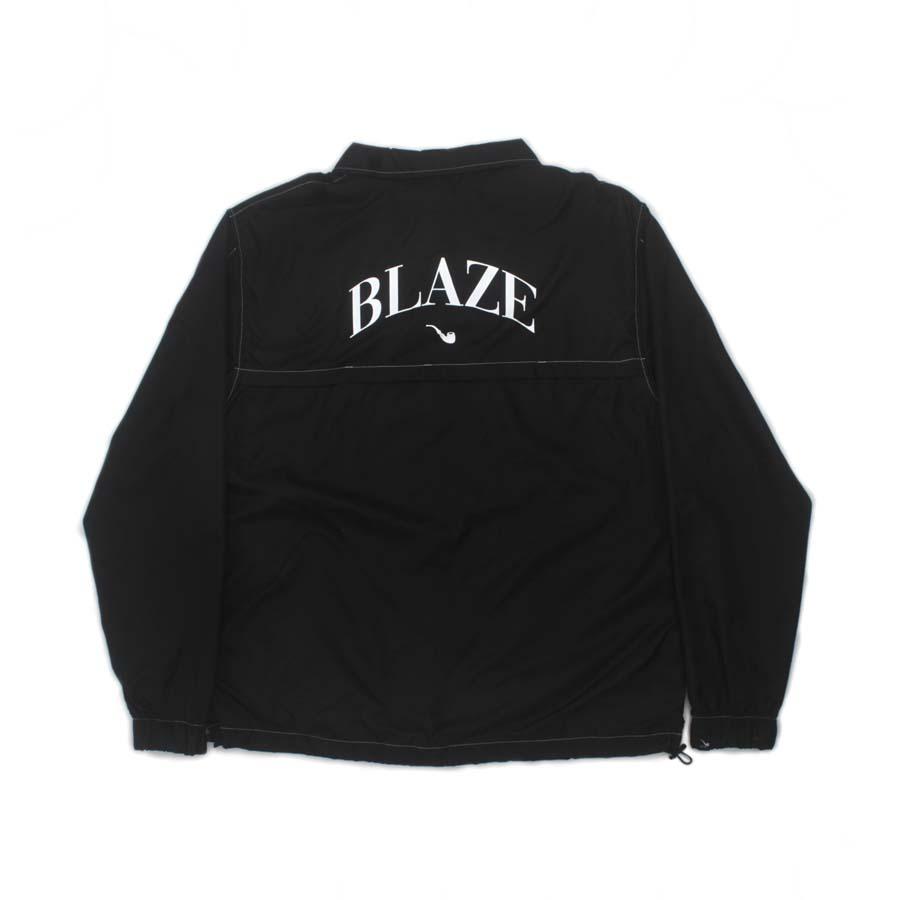 Blaze Ziper Jacket Pipe College Black