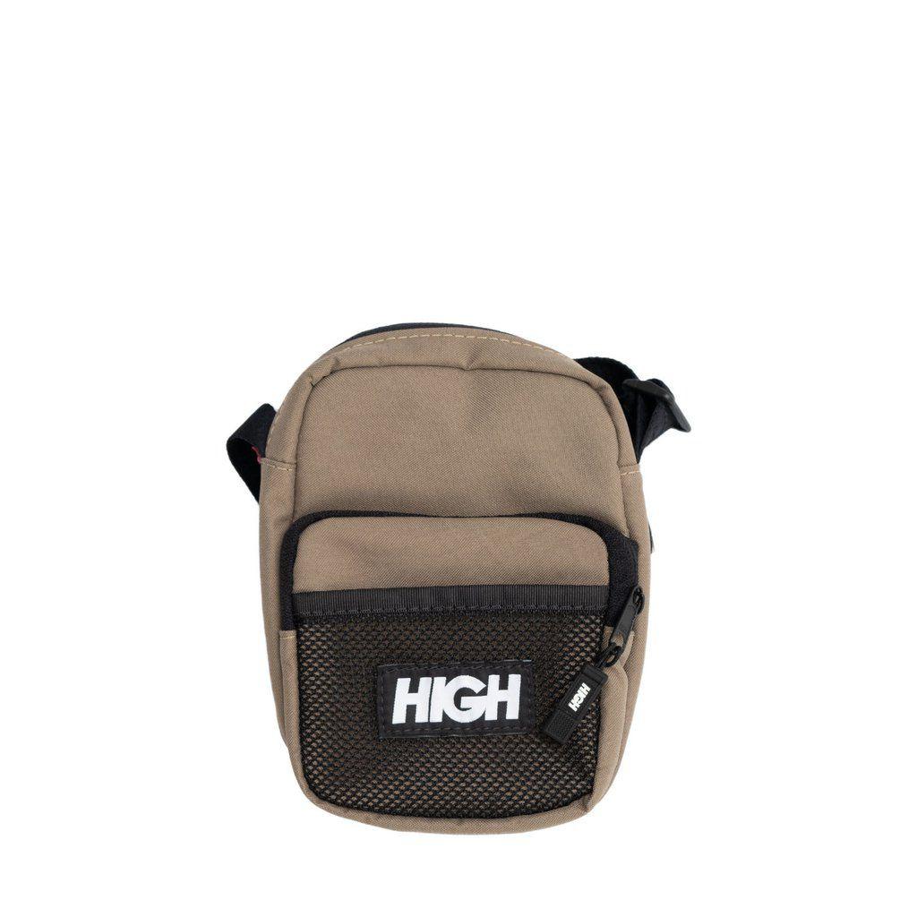 Bolsa HIGH Shoulder Bag Label Beige