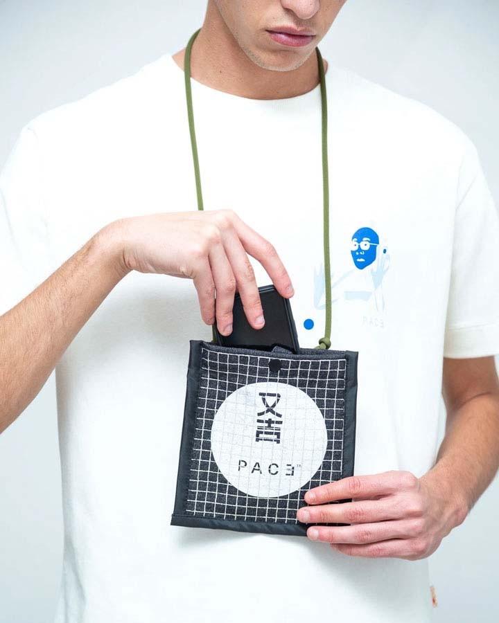 Bolsa Pace Eco Pouch Bag Black
