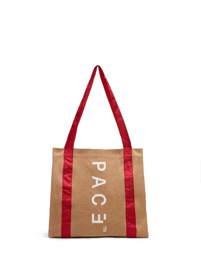 Bolsa Pace Eco Tote Bag Beige