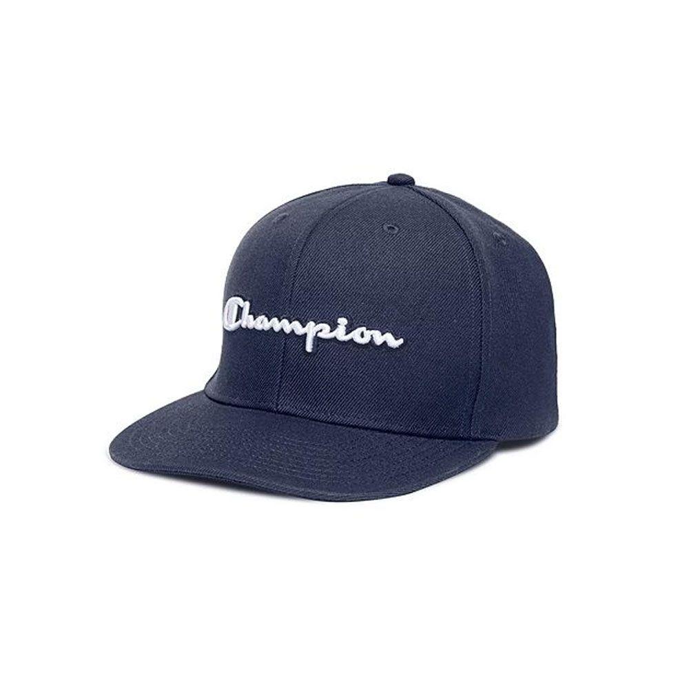 Boné Champion Snapback Script Logo Baseball Hat Marinho