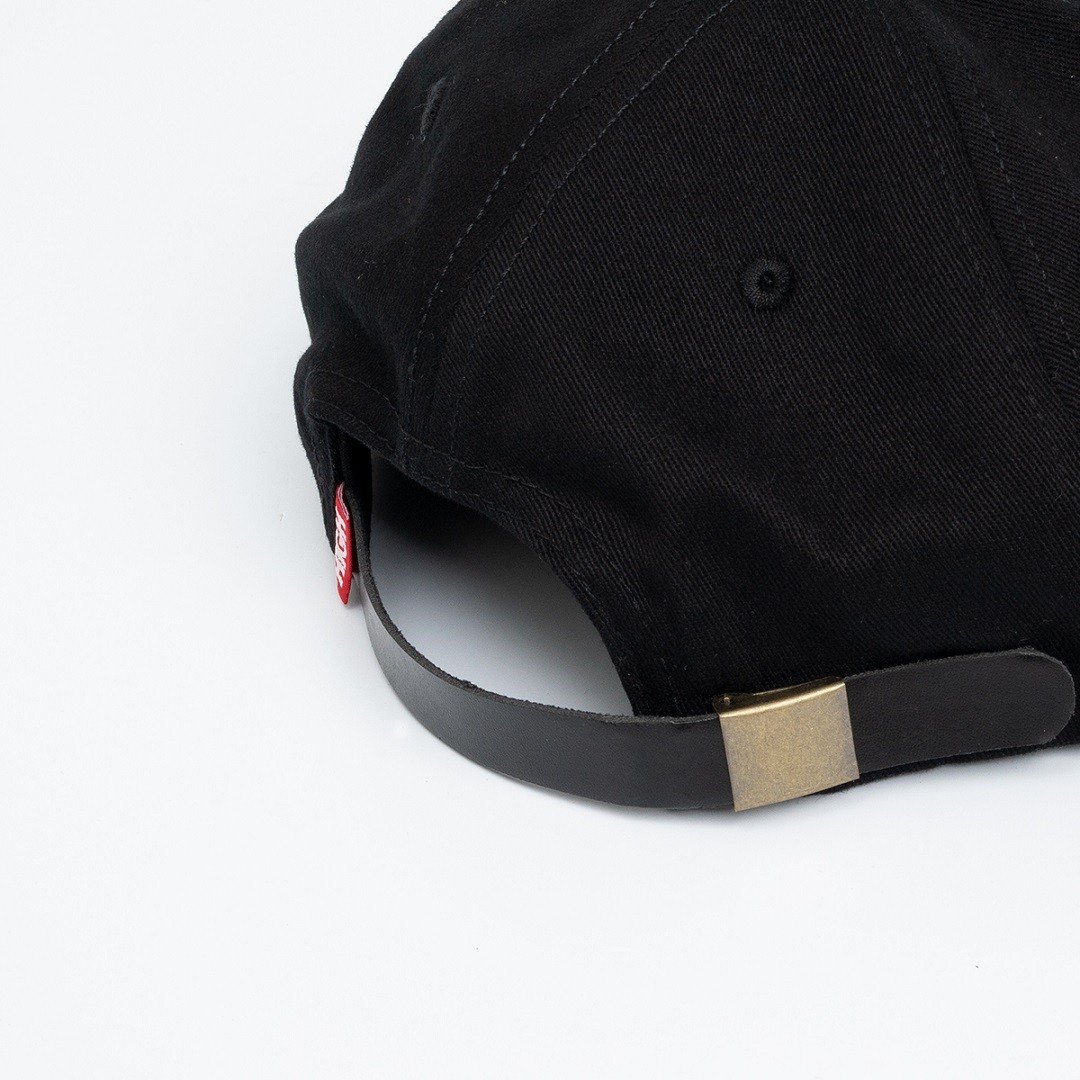 Boné High 6 Panel Keysmith Black