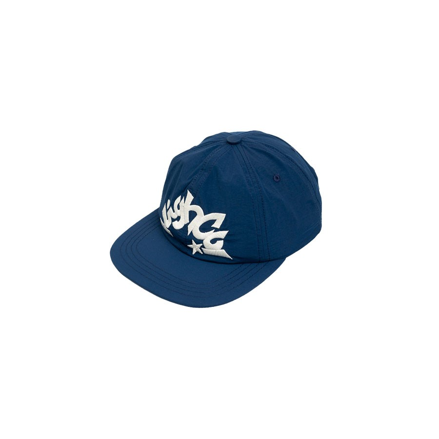 Boné High 6 Panel Star Navy