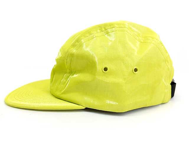 Boné Supreme Camp Cap Coated Linen Green Lime SS18