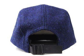 Boné Supreme Camp Cap Featherweight Wool Navy