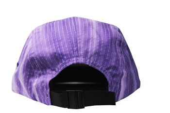 Boné Supreme Camp Cap Tie Dye Rip Stop Purple