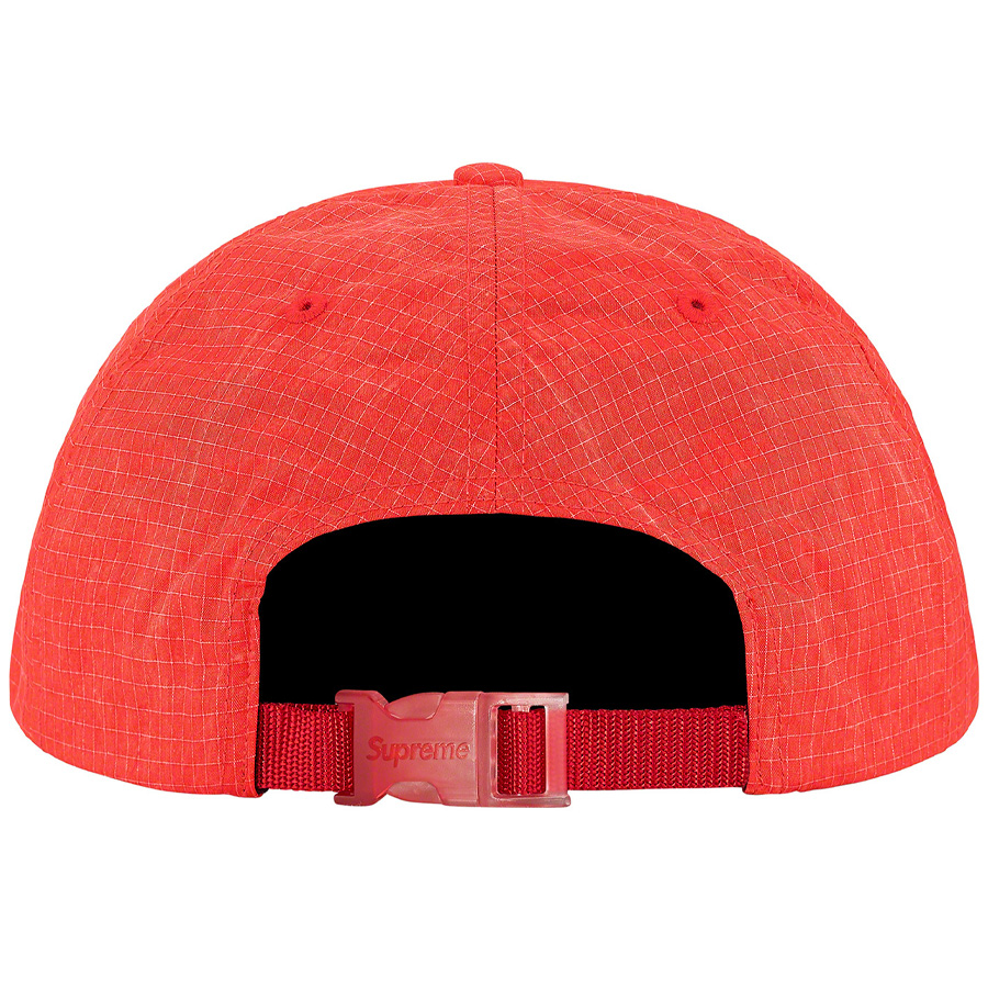 Boné Supreme Faded Ripstop 6-Panel Red