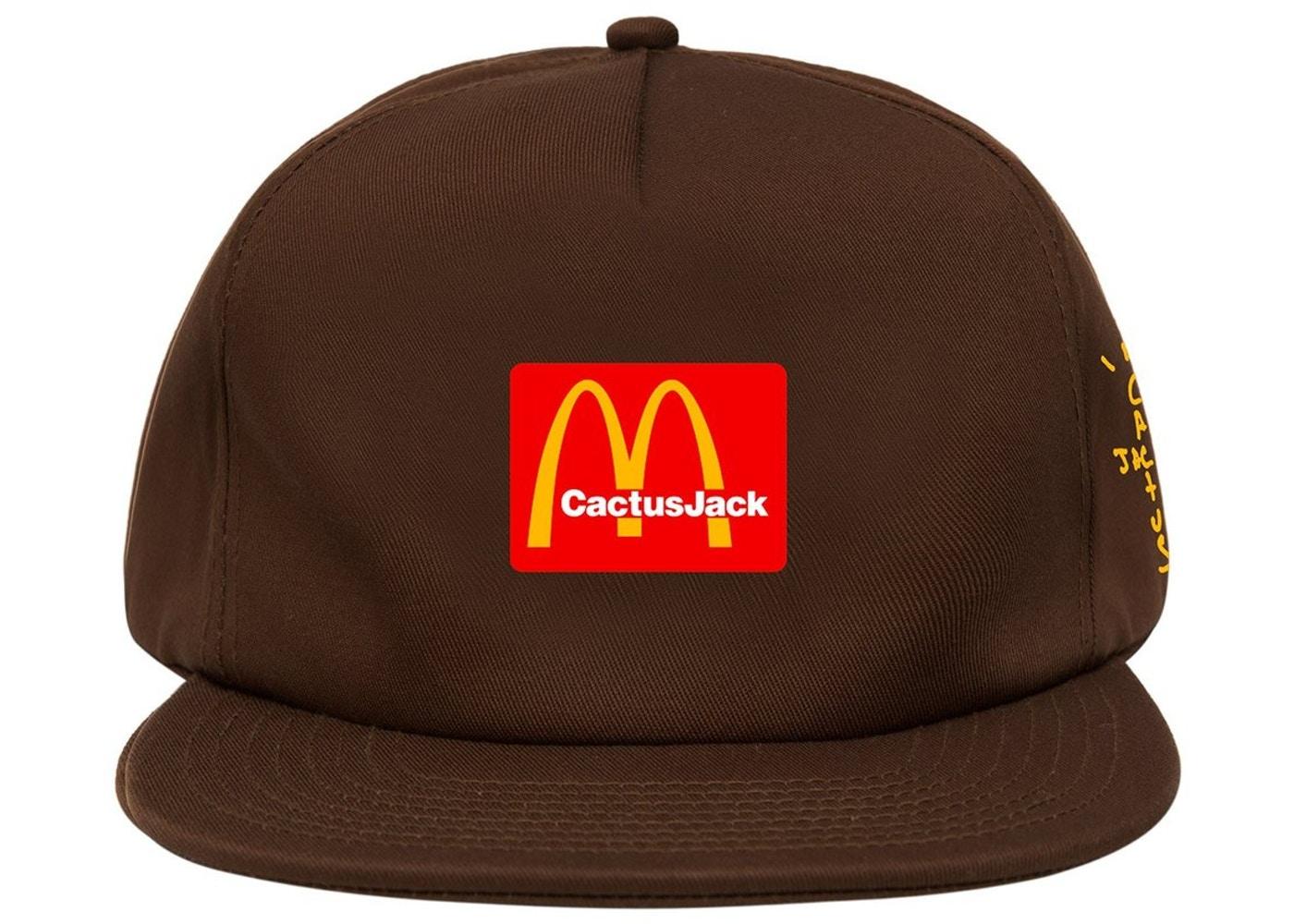 Boné Travis Scott x McDonald's CJ Arches Hat