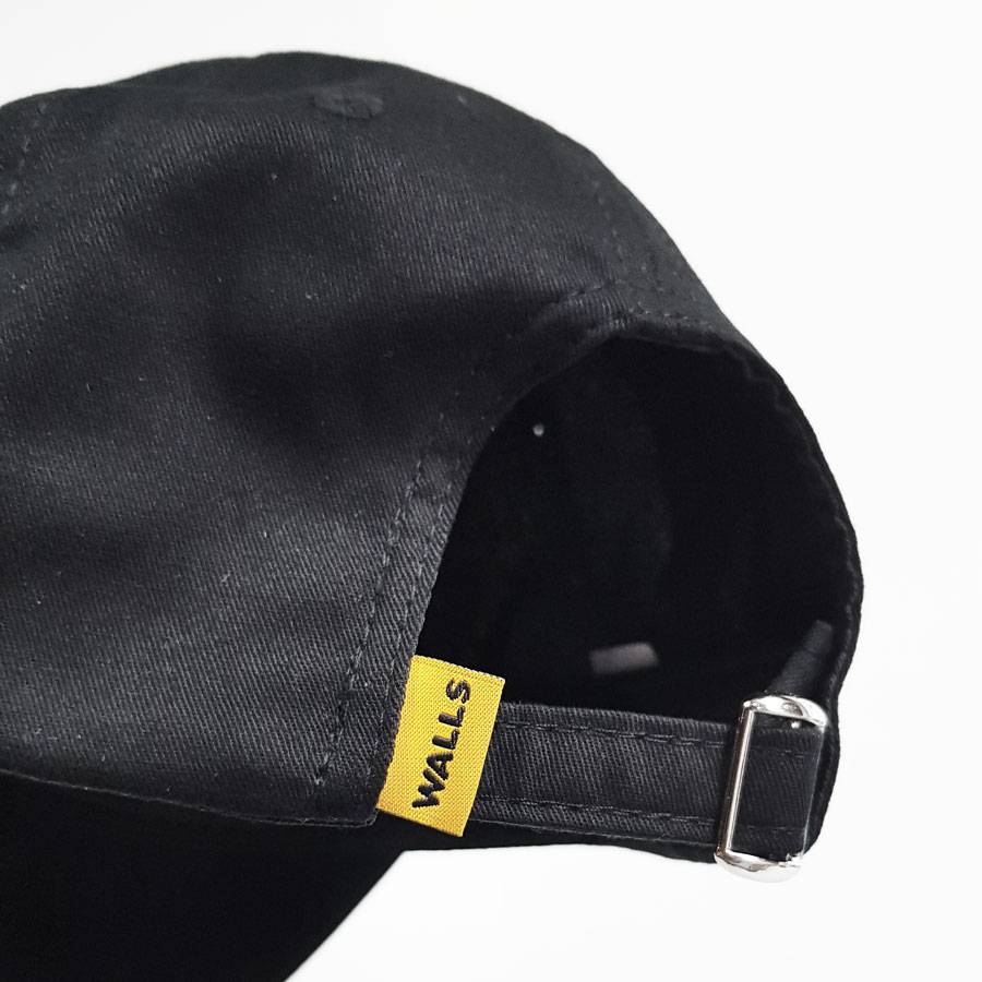 Boné WALLS Dad Hat Preto