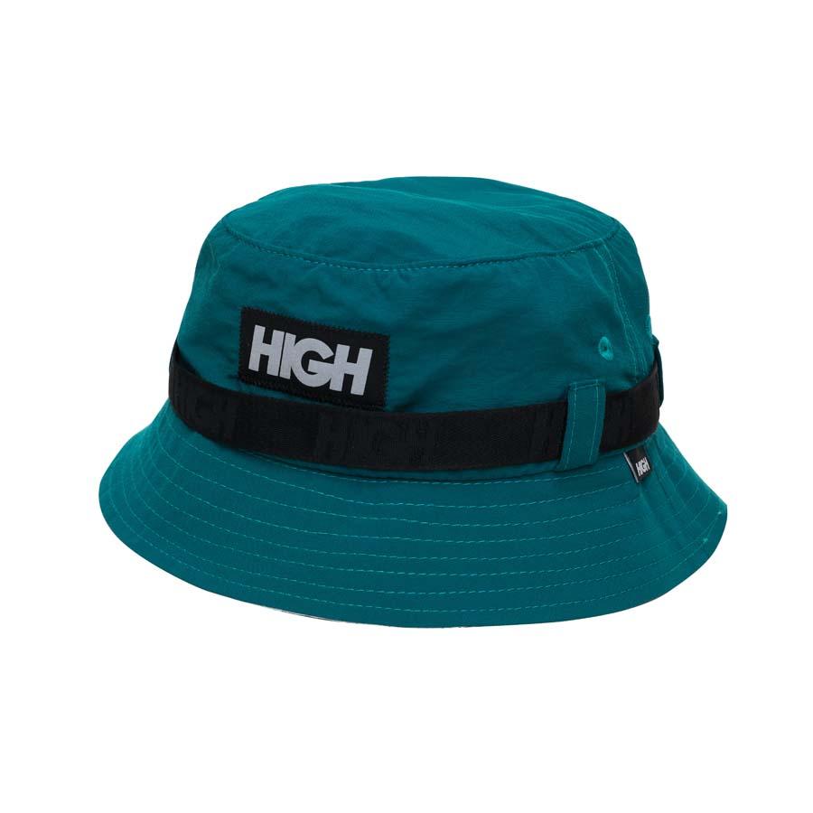 Bucket High Strapped Bucket Hat Night Green
