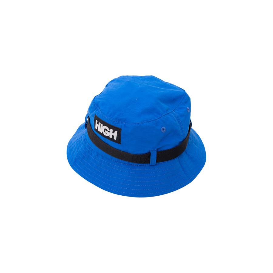 Bucket High Strapped Hat Blue